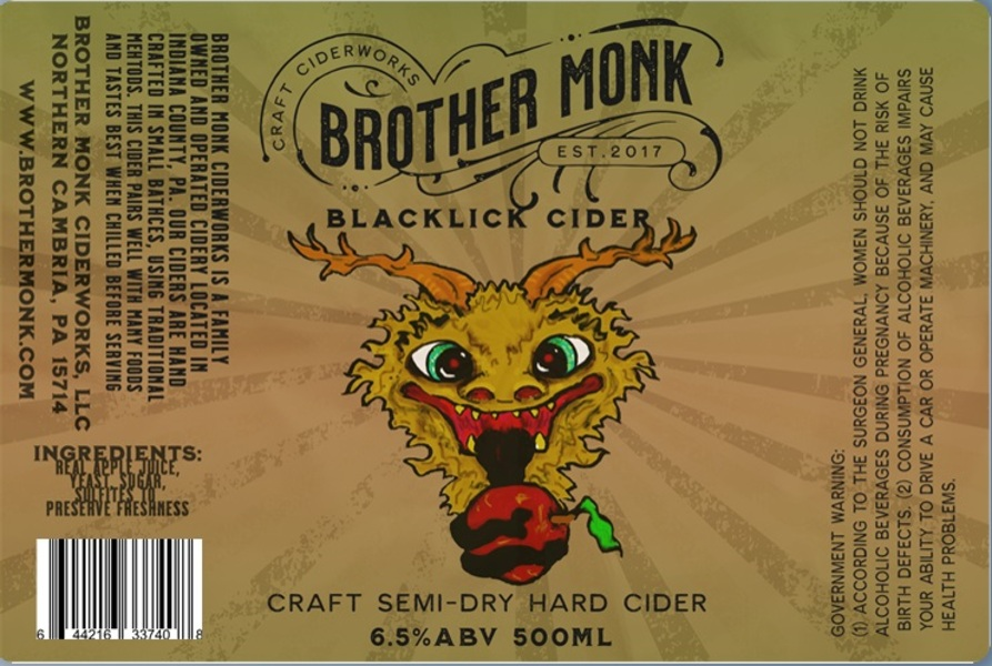 Blacklick hard Cider 500ml