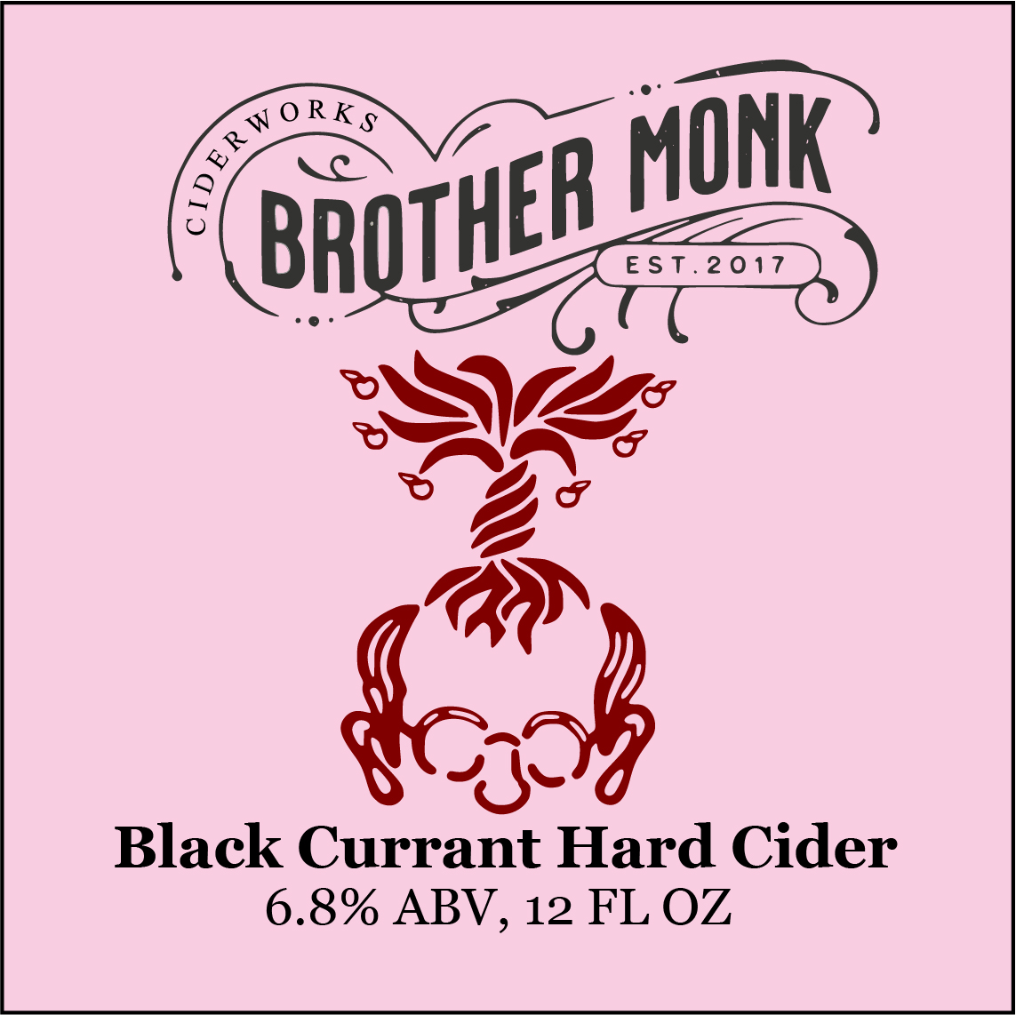 Black Currant Hard Cider Logo