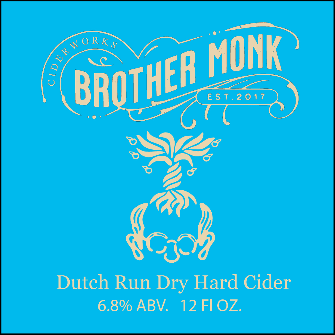 Dutch Run Dry Hard Cider Logo