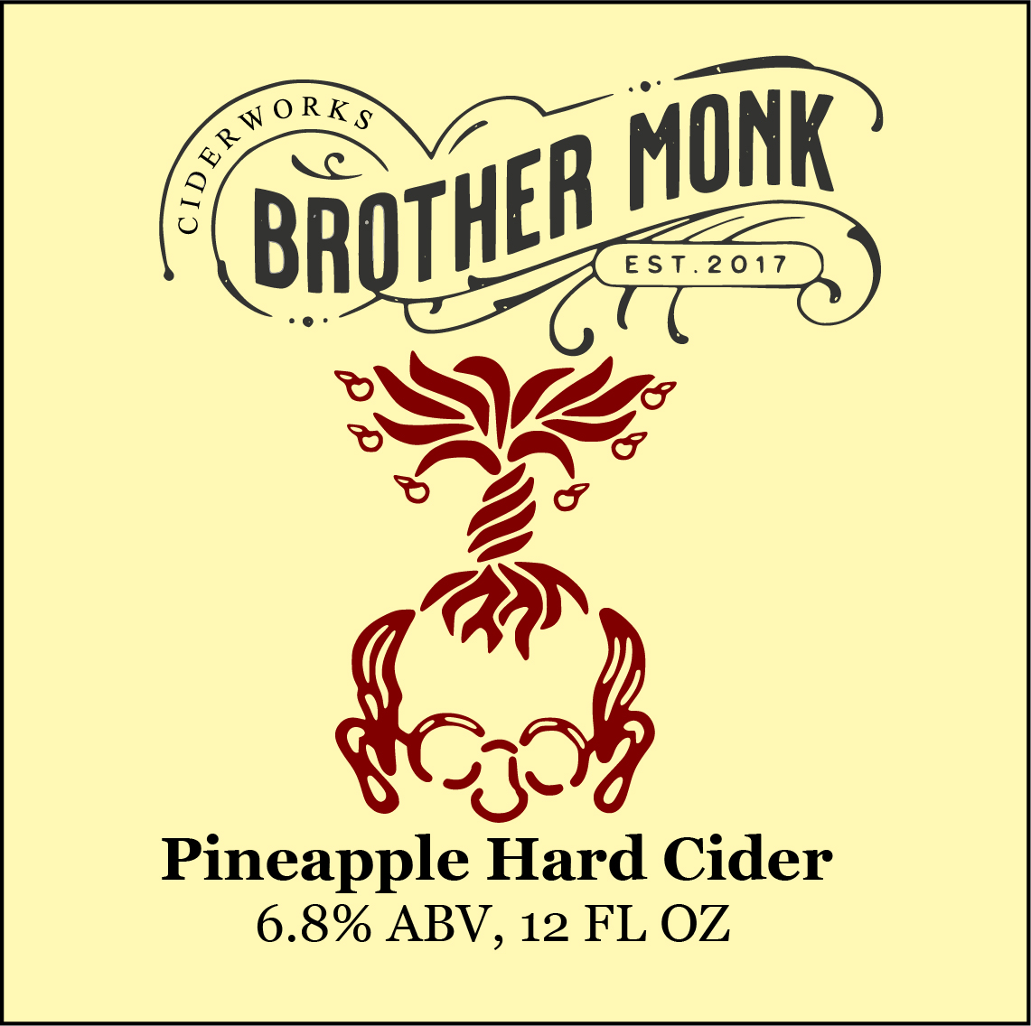 Pineapple Hard Cider Logo