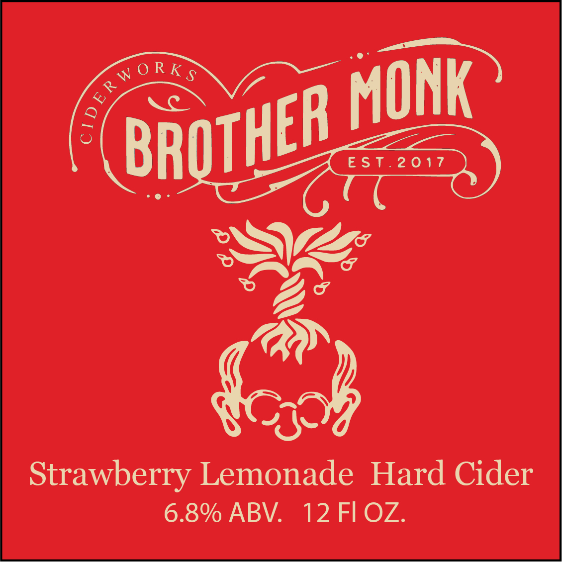 Strawberry Lemonade Hard Cider Logo